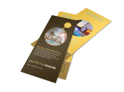 Luxury Hotel Flyer Template 2