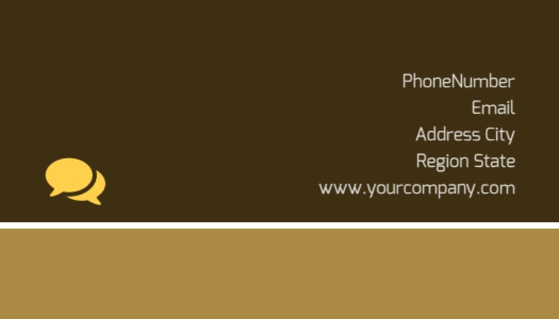 Luxury Hotel Business Card Template Preview 3