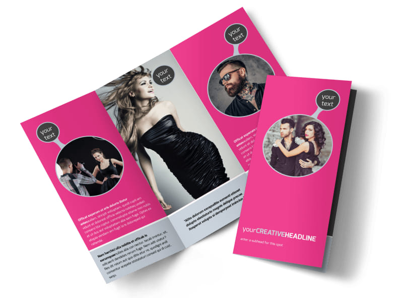 Fashion Photography Brochure Template | Mycreativeshop