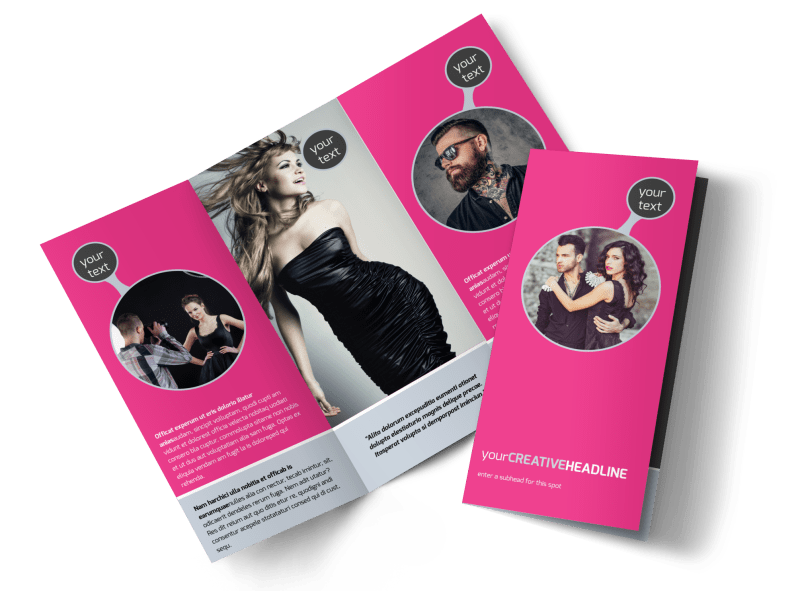 Fashion Photography Brochure Template Preview 1