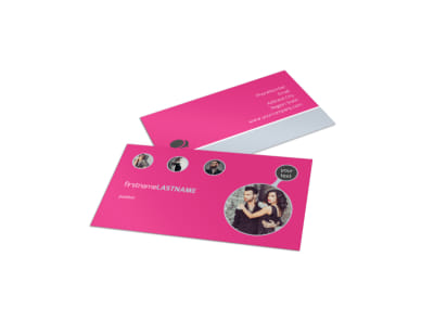 Fashion Photography Business Card Template preview