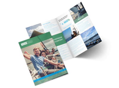 Sailing tours Bi-Fold Brochure Template 2