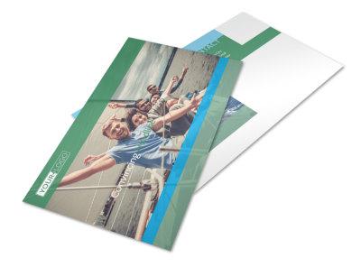 Sailing tours Postcard Template 2