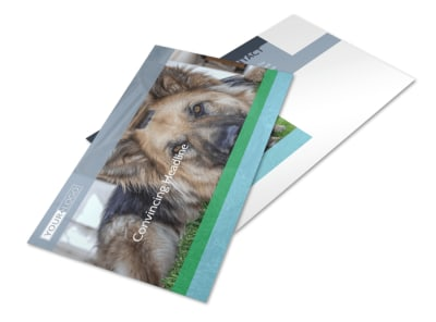 Animal Charities Postcard Template 2 preview