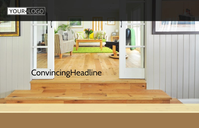 Hardwood Floor Installation Postcard Template Preview 2