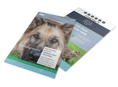 Animal Charities Flyer Template 3