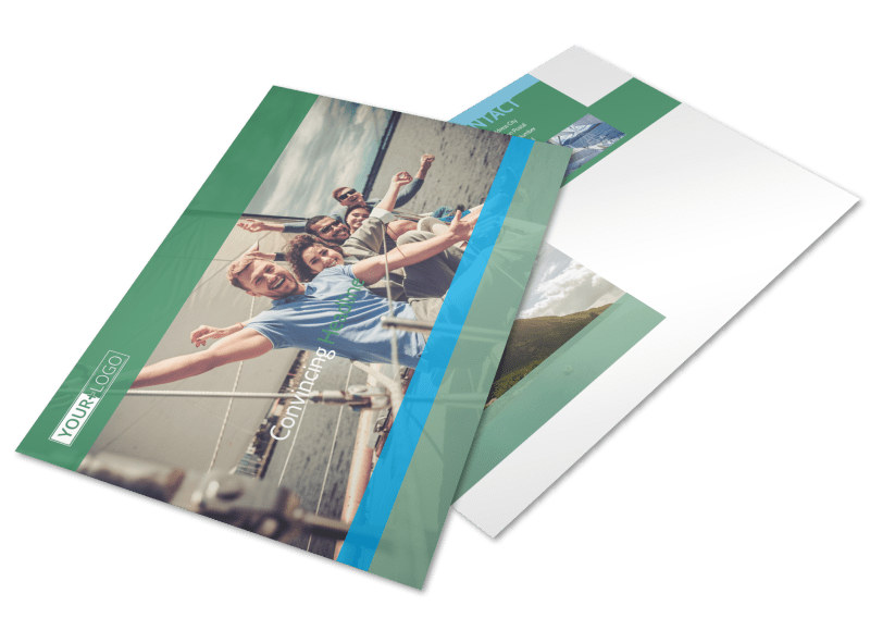 Sailing tours Postcard Template Preview 4