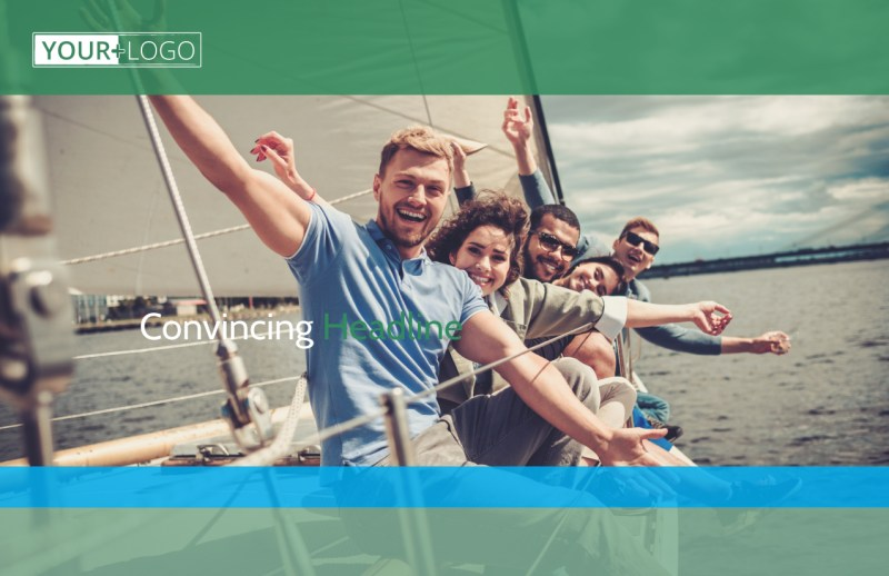 Sailing tours Postcard Template Preview 2