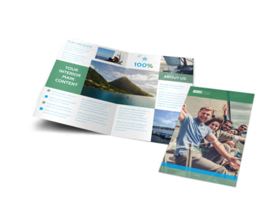 Sailing tours Bi-Fold Brochure Template