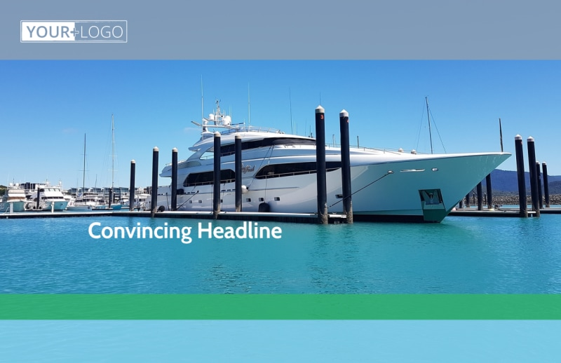 Marine Insurance Postcard Template Preview 2