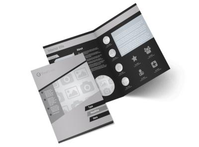 Generic Bi-Fold Brochure Template 9063