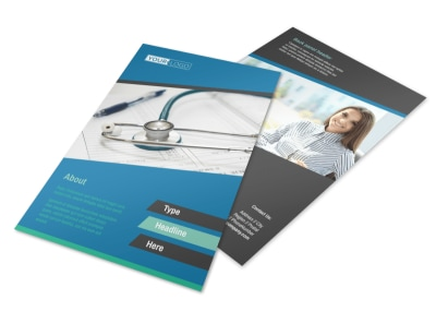 Medical Billing & Coding Flyer Template 3