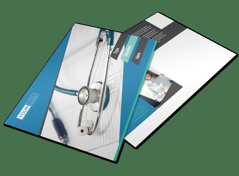 Medical Billing Postcard Template Preview 1