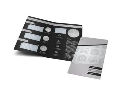 Generic Bi-Fold Brochure Template 9067