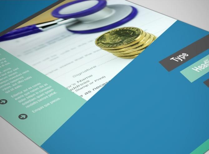 Medical Billing & Coding Flyer Template