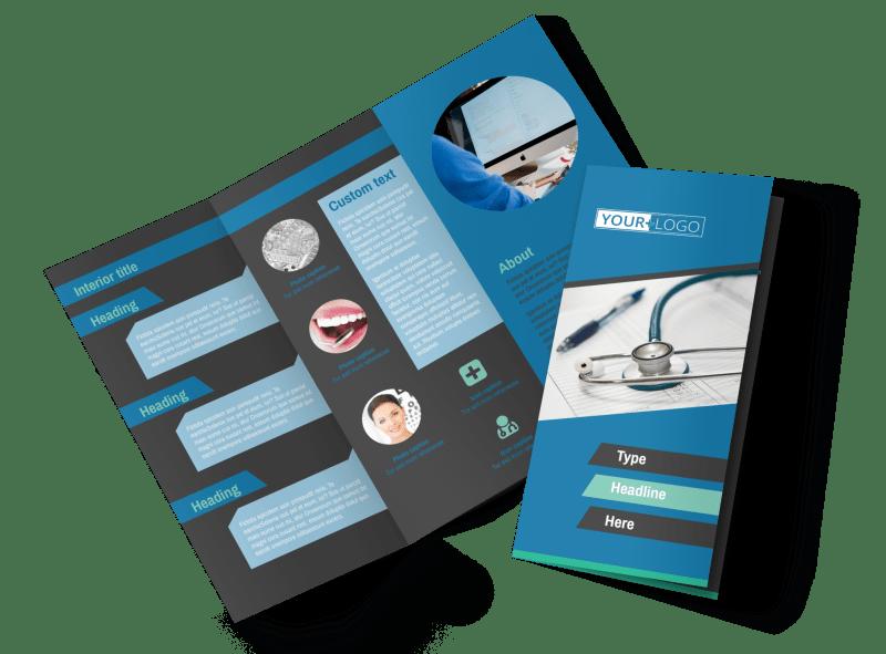 Medical Billing Brochure Template Preview 1