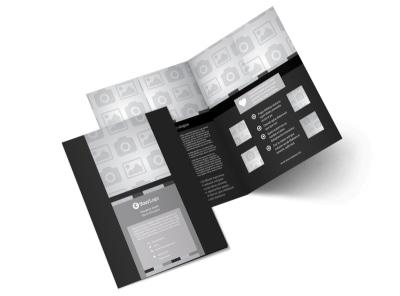 Generic Bi-Fold Brochure Template 9072