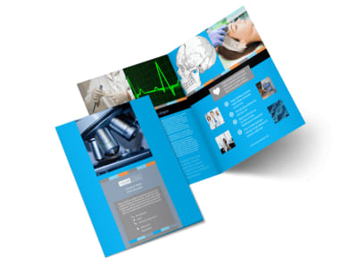 Medical Device Bi-Fold Brochure Template 2