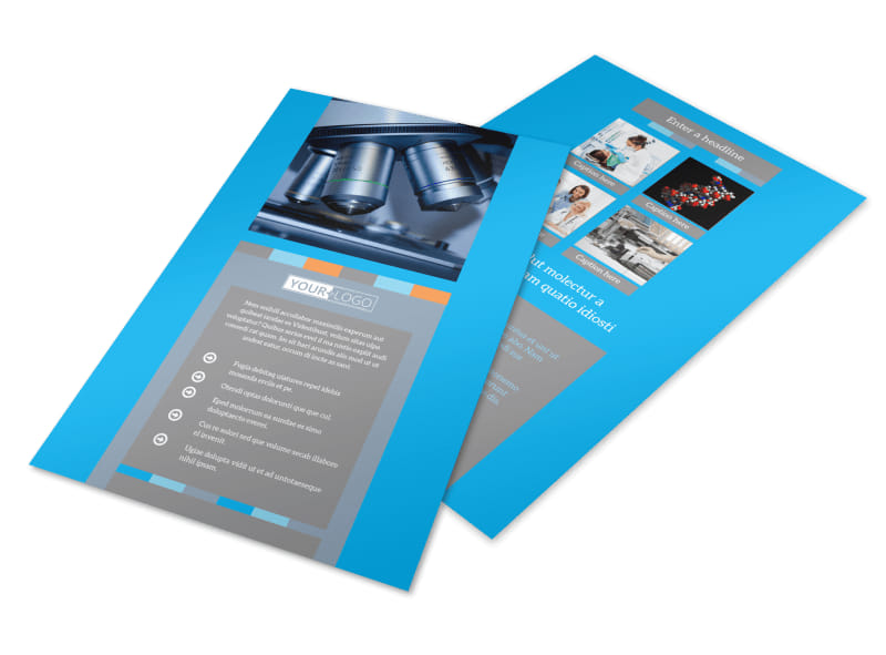 Medical Device Flyer Template 3