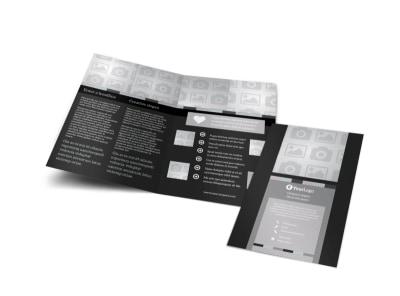 Generic Bi-Fold Brochure Template 9076