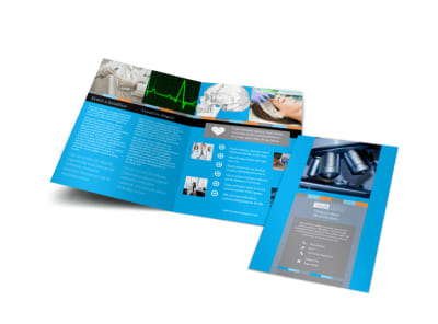 Medical Device Bi-Fold Brochure Template