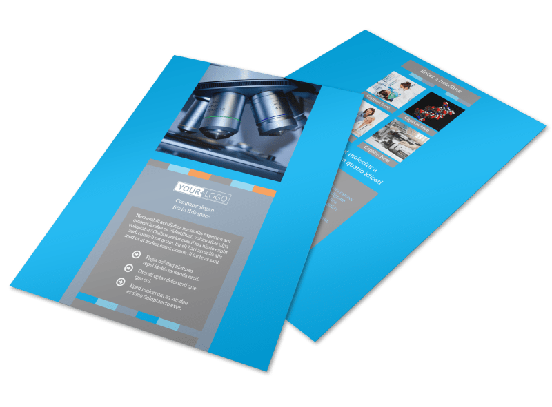 Medical Device Flyer Template Preview 1
