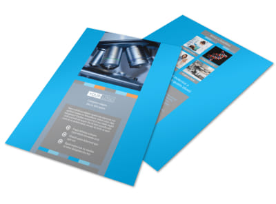 Medical Device Flyer Template