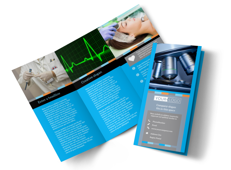 Medical Device Brochure Template Preview 1