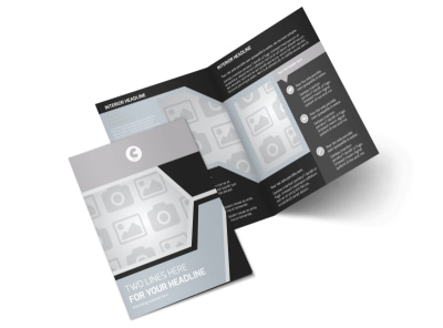Generic Bi-Fold Brochure Template 9081