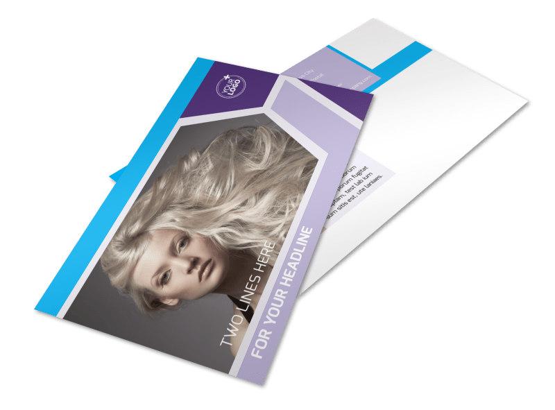 Beauty Spa Postcard Template 2
