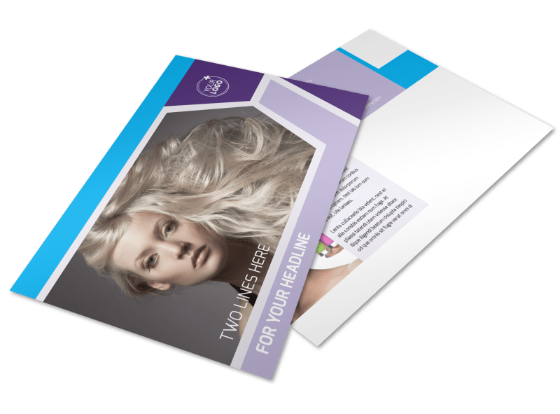 General Beauty 1 Postcard Template Preview 1