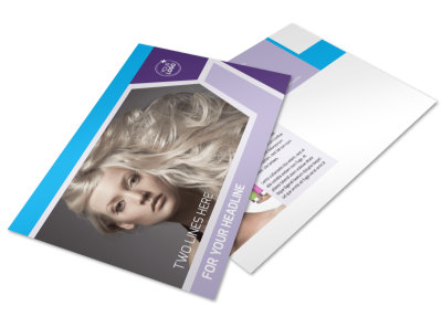 Beauty Spa Postcard Template preview