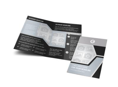 Generic Bi-Fold Brochure Template 9085