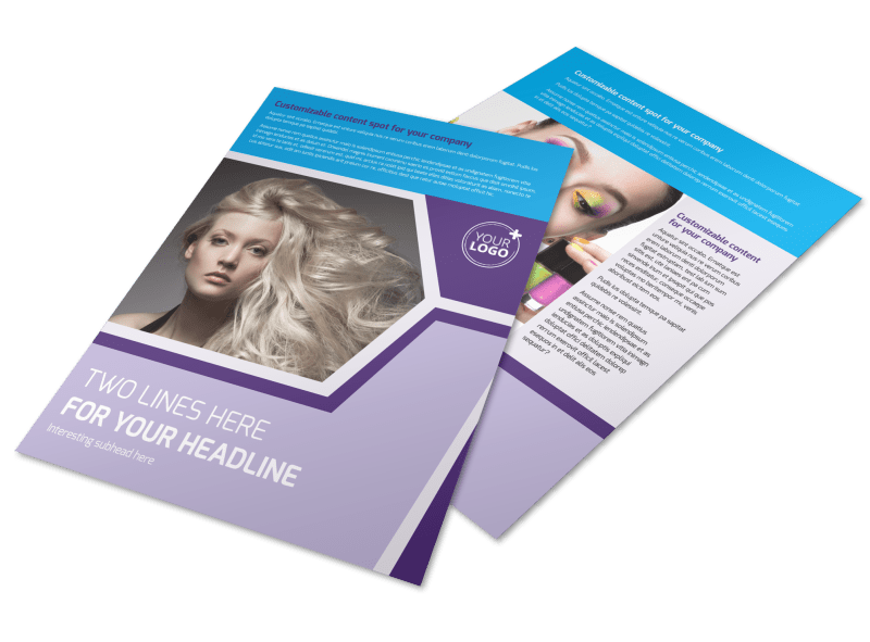 General Beauty 1 Flyer Template Preview 1