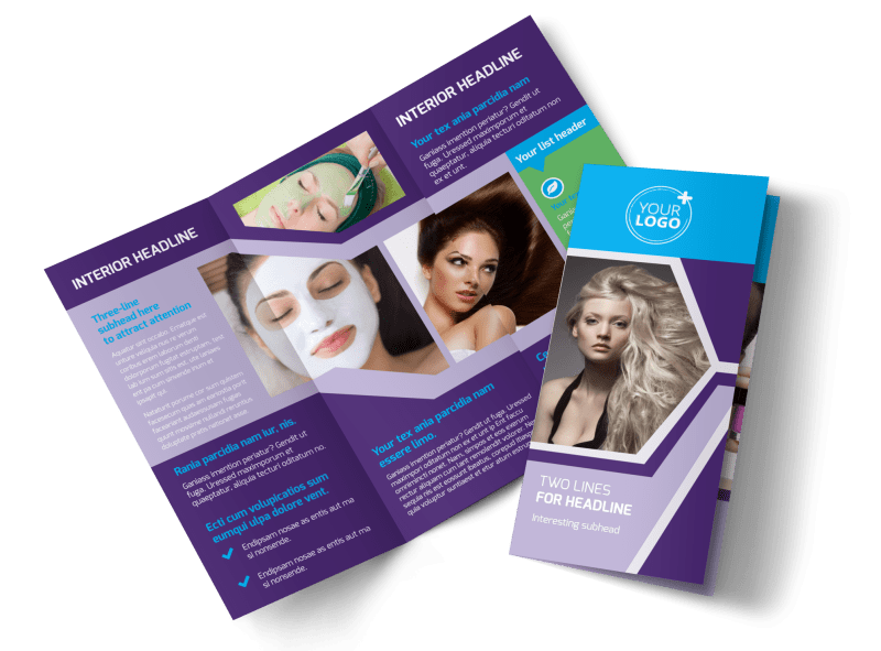 General Beauty 1 Brochure Template Preview 1