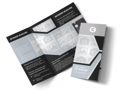Generic Tri-Fold Brochure Template 9087