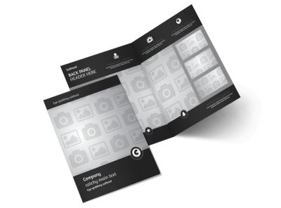 Generic Bi-Fold Brochure Template 9090