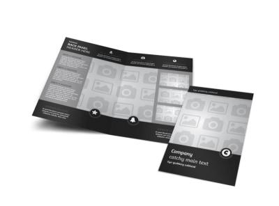 Generic Bi-Fold Brochure Template 9094
