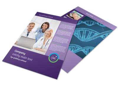 Medical Technology Flyer Template