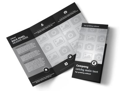 Generic Tri-Fold Brochure Template 9096