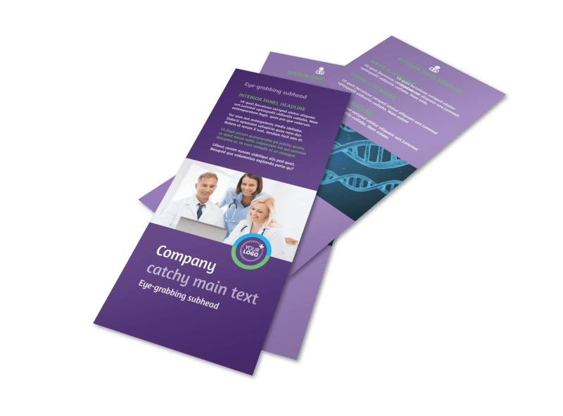 Medical Technology Flyer Template Preview 1
