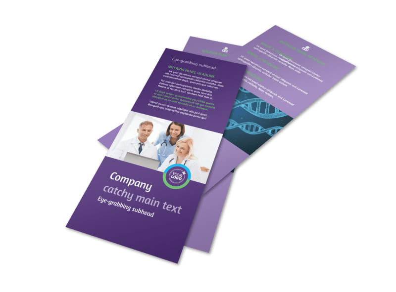 Medical Technology Flyer Template 2