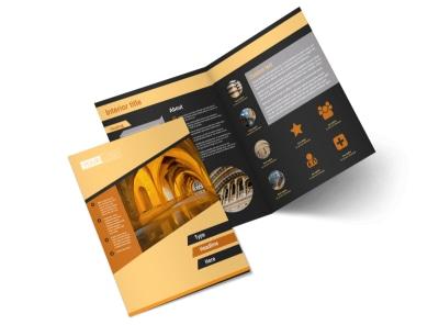 Creative Architecture & Design Bi-Fold Brochure Template 2 preview