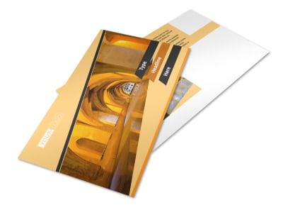Creative Architecture & Design Postcard Template 2 preview