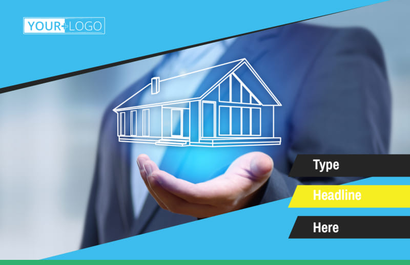 Home Security Service Postcard Template Preview 2