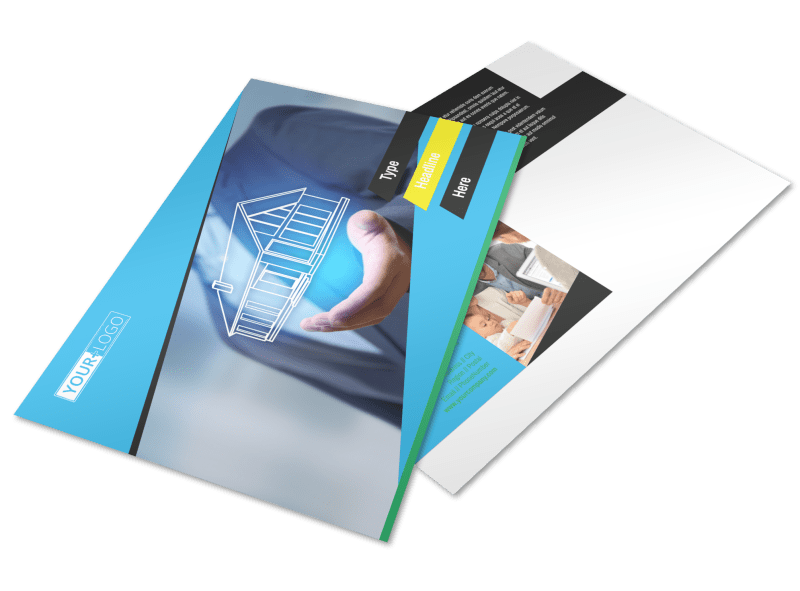 Home Security Service Postcard Template Preview 1