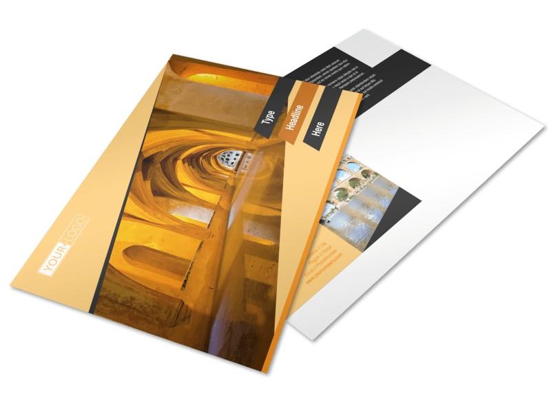 Creative Architecture & Design Postcard Template Preview 4