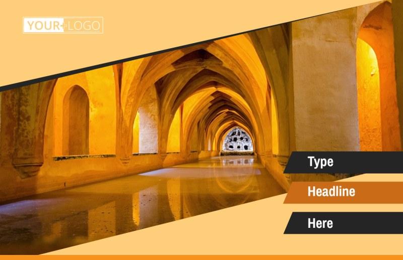 Creative Architecture & Design Postcard Template Preview 2