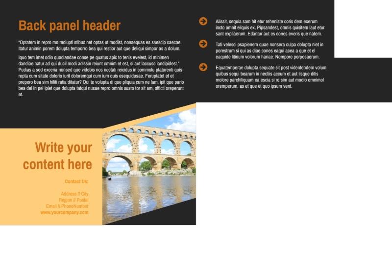 Creative Architecture & Design Postcard Template Preview 3