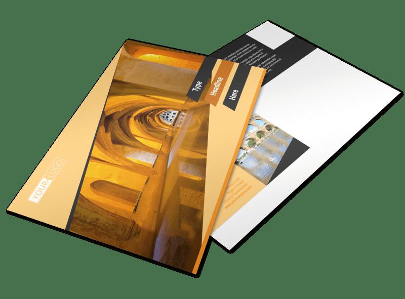 Creative Architecture & Design Postcard Template Preview 1
